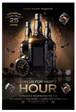 Happy Hour Flyer - 1