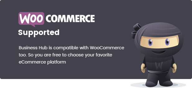 business hub supports woocommerce