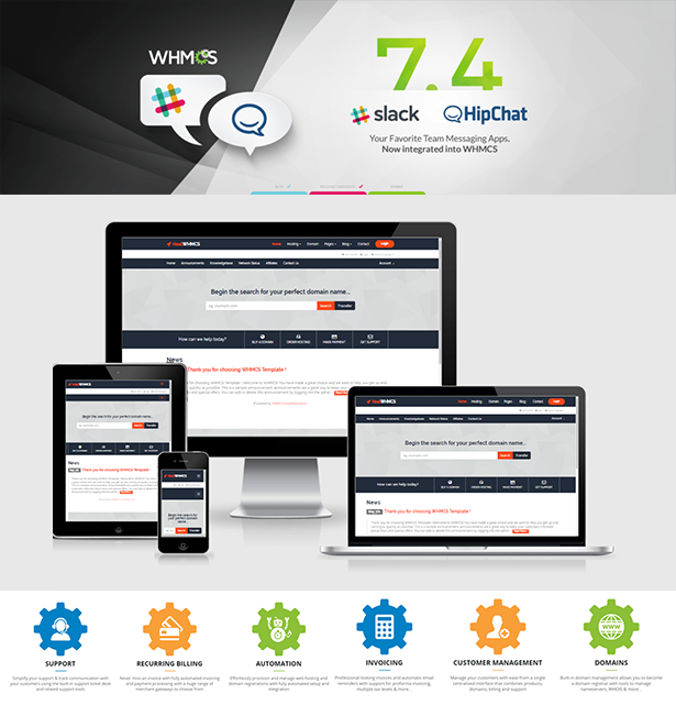 HostWHMCS - Responsive Hosting and WHMCS WordPress Theme