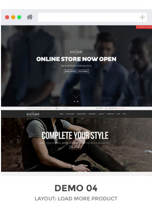 Gentshop Shopify theme