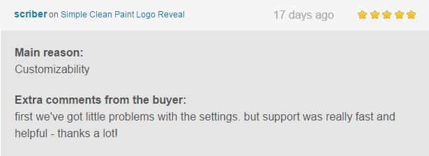 Simple Clean Paint Logo Reveal Review