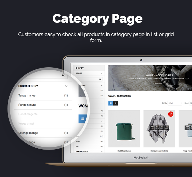 t1fashion - Opencart Theme