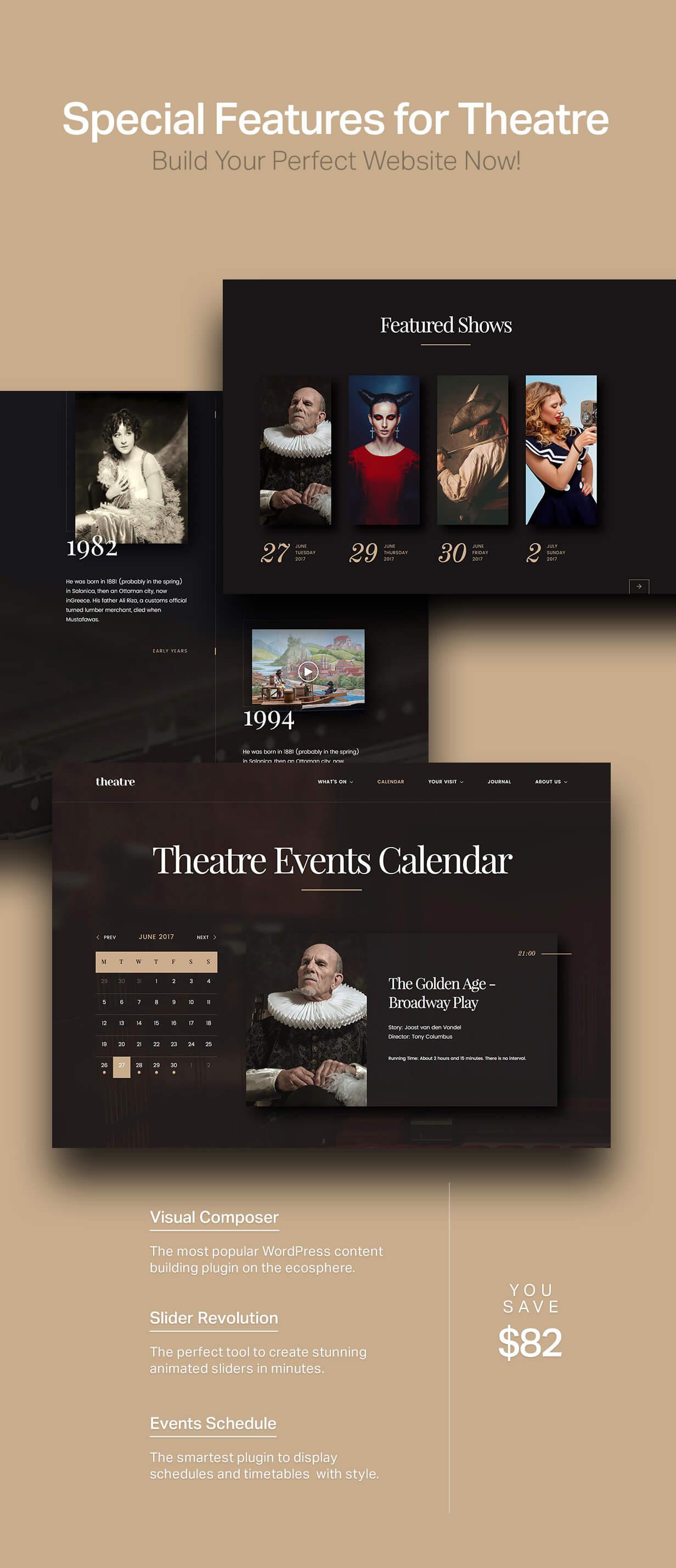 Theatre WP | Culture, Entertainment & Theater WordPress Theme - 5