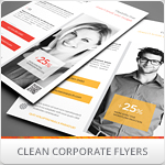Clean Minimal Multipurpose Flyers vol. 3
