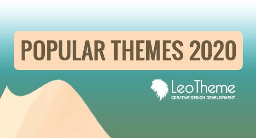 Popular PrestaShop Themes Leotheme