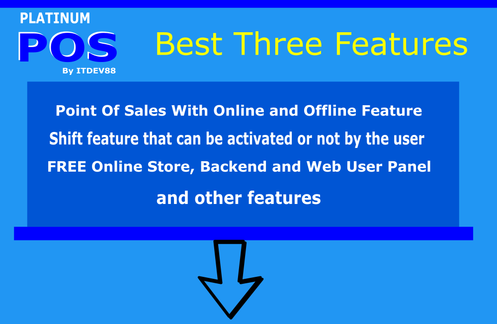 Platinum Point Of Sales (POS) complete package, Android and Online Store with Offline Feature - 4