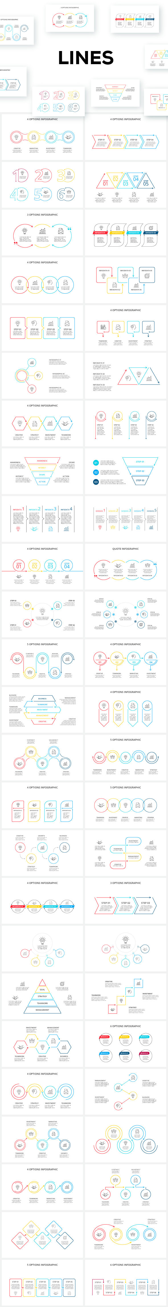 Multipurpose Infographics PowerPoint Templates v.5.0 - 141