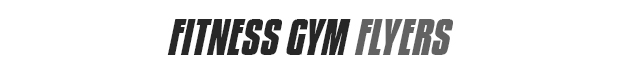Fitness-Gym-Flyers