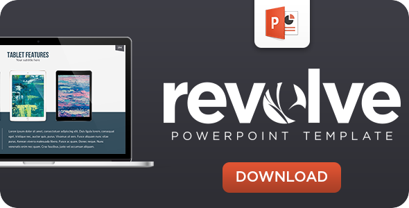Revolve Powerpoint Template