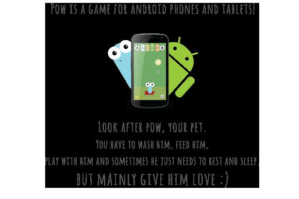 Pow | Tamagotchi like game with AdMob - 2