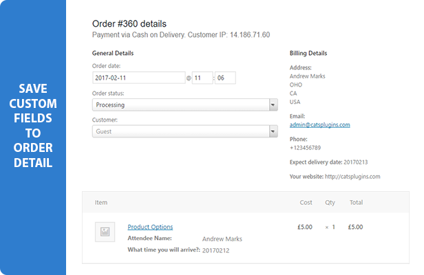 Advanced Custom Fields for WooCommerce - 4