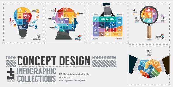 Book Diagram Creative Paper Cut Style - 1