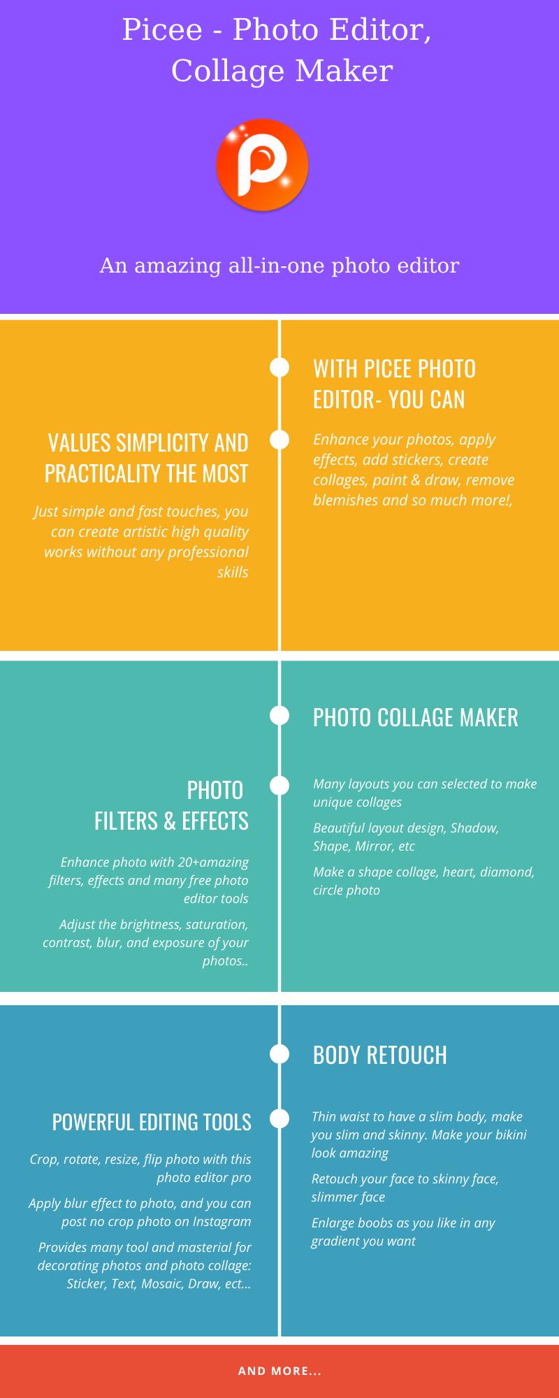 Picee - Photo Editor, Collage Maker - 2