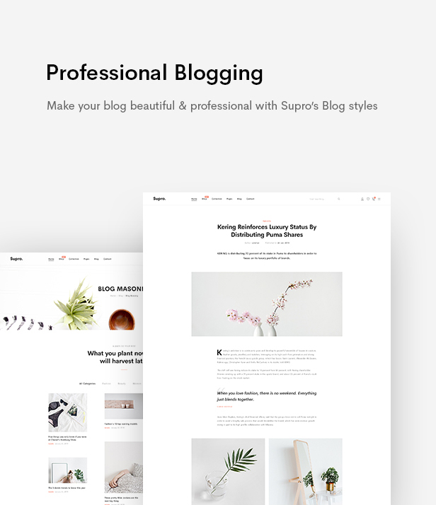 Supro - Minimalist AJAX WooCommerce WordPress Theme - 21