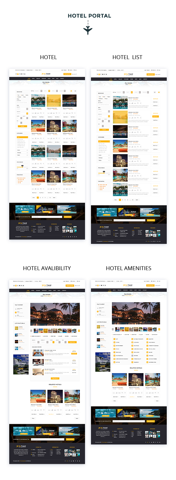 Travel PSD Template - 7