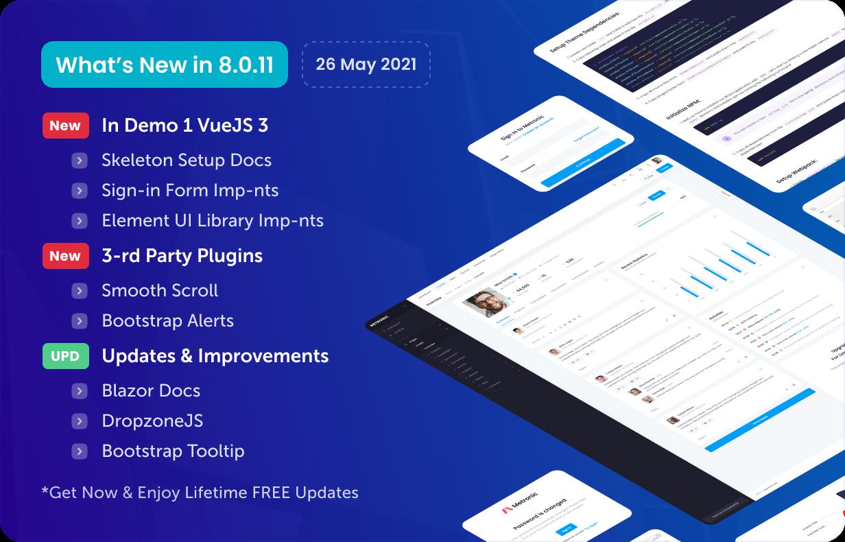 Metronic - Bootstrap 4/5 HTML, VueJS, React, Angular 11 & Laravel Admin Dashboard Theme - 16