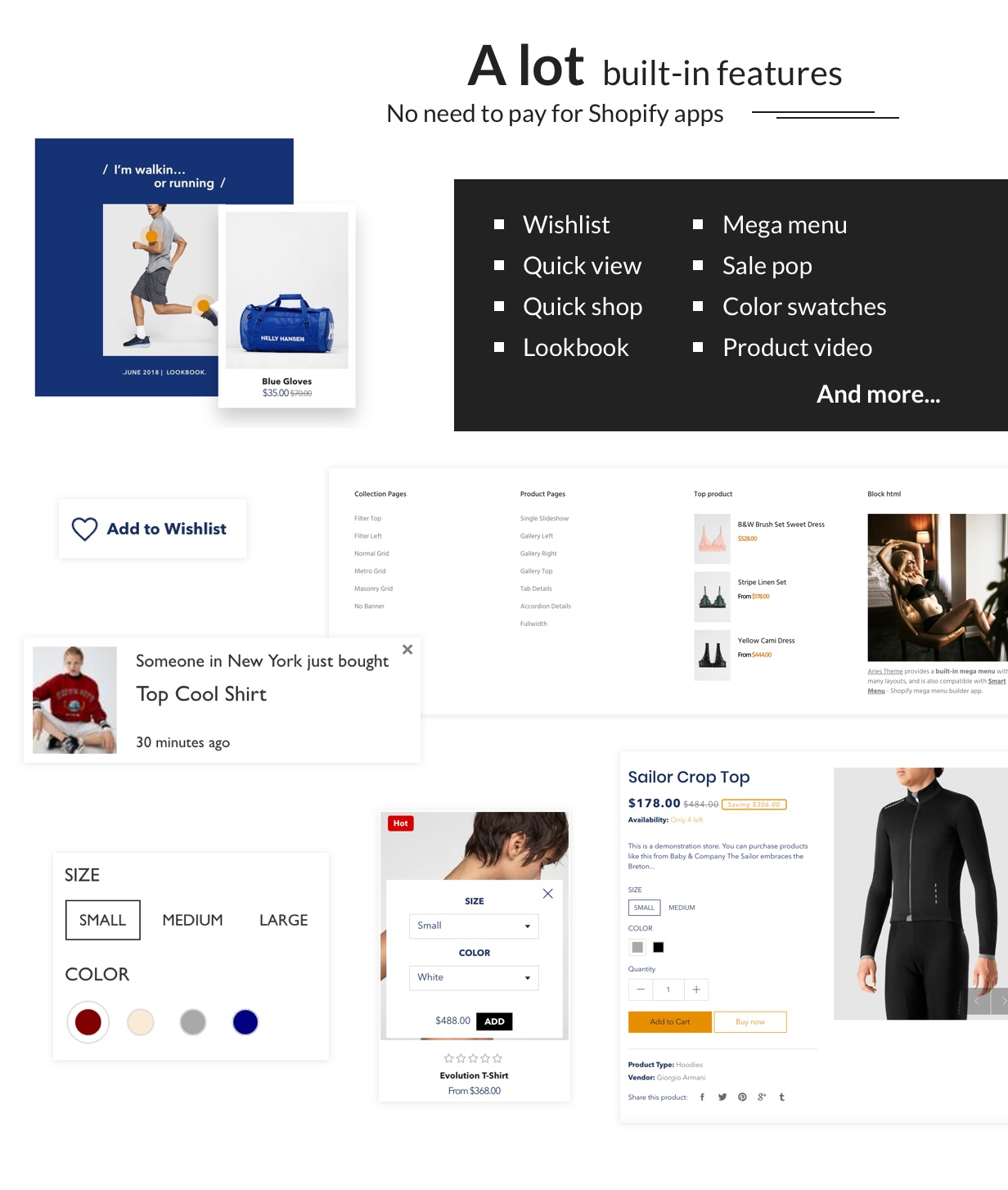 ARIES - Everything for a Shopify Fashion theme - 7