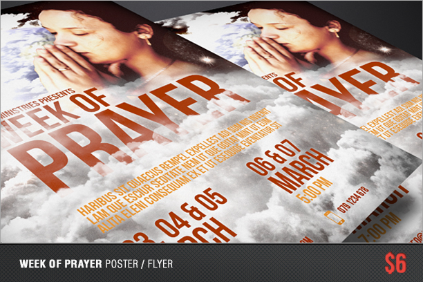 Week of Prayer Poster / Flyer