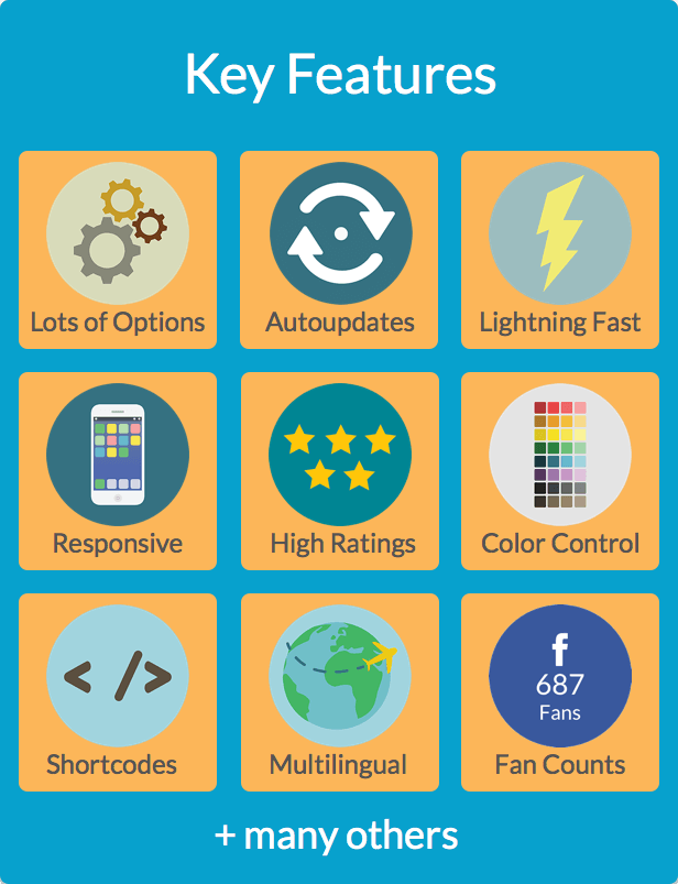 Ultimate Social - Easy Social Share Buttons and Fan Counters for