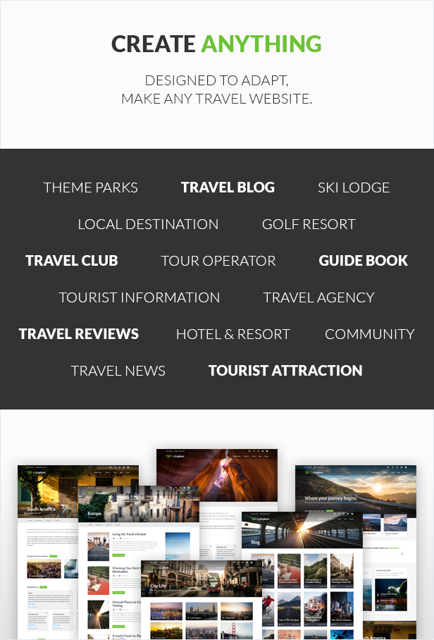 Travel WordPress Theme - GoExplore! - 2