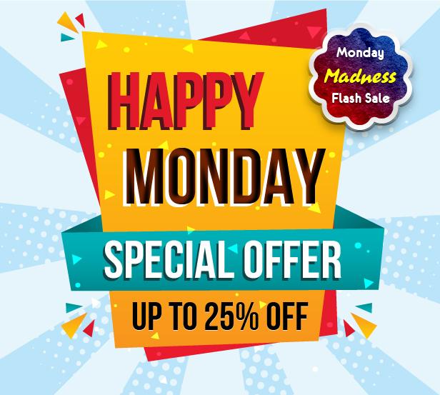 WebPanda Mega Monday Offer Get 25% Discount