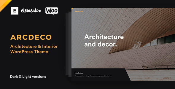 Arcdeco WordPress Theme