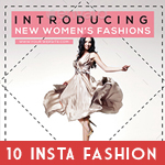 Instagram Fashion Banner Bundle - 8