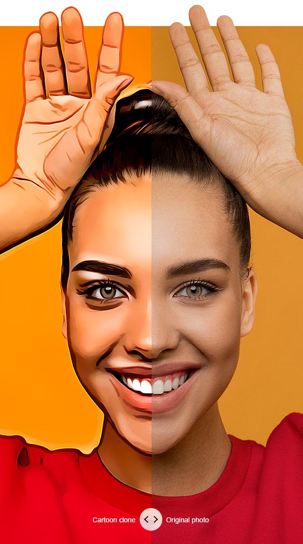 Cartoon Maker - Clone - Photoshop Plugin - 1