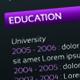 Catchy Horizontal Resume - GraphicRiver Item for Sale
