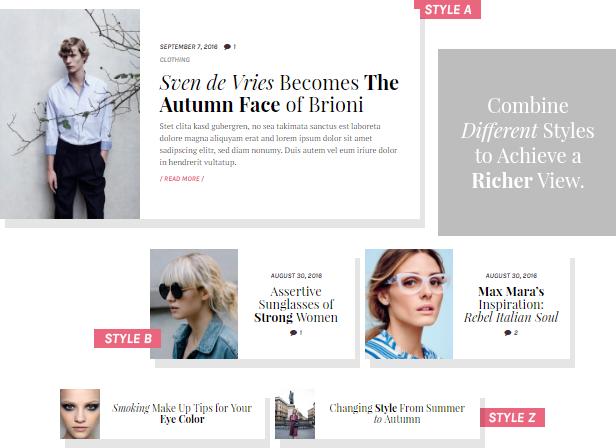 Blake von Hauer - Editorial Fashion Magazine Theme by Burnhambox | ThemeForest