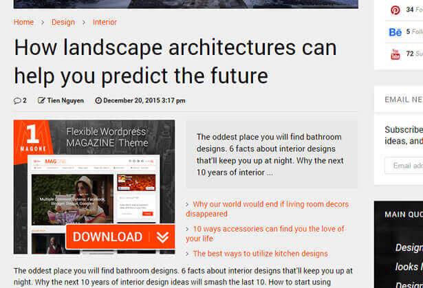 Ads Spots Ready News WordPress Theme