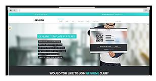 Genuine - Multi Purpose HTML5 Creative Template - 3