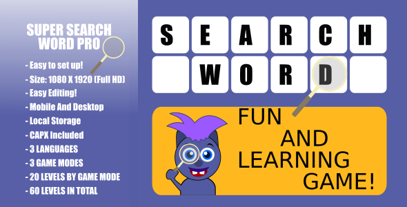 Super Word Search Pro