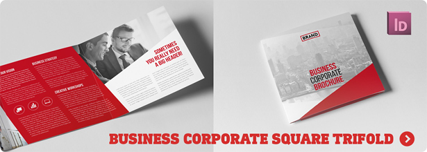 Business Corporate Trifold Brochure - 1