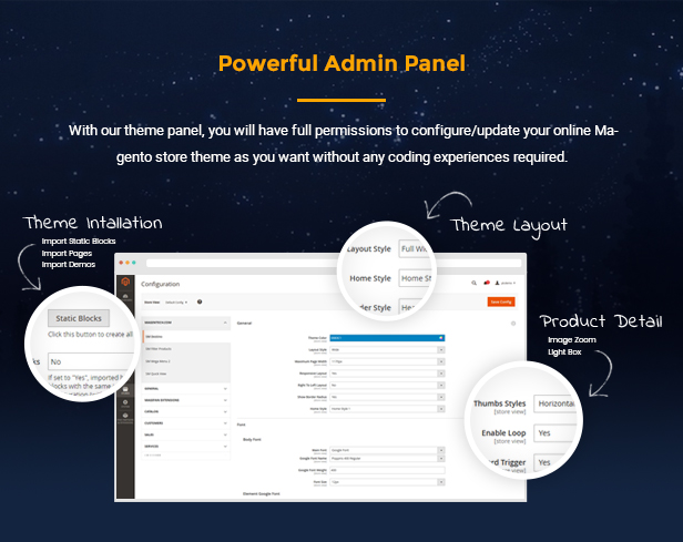 Topz - Powerful Admin Panel