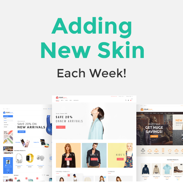YourStore - Woocommerce theme - 1