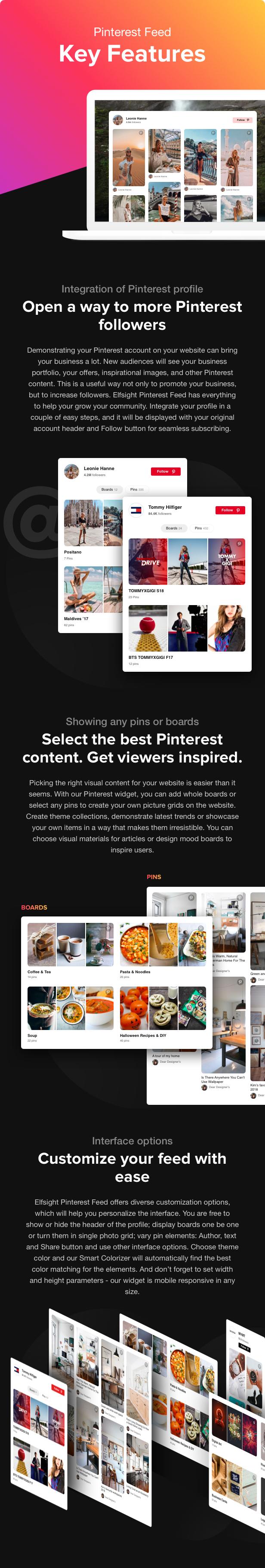 Pinterest Feed - WordPress Pinterest Feed plugin - 2