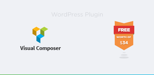 Visual Composer Plugin Included