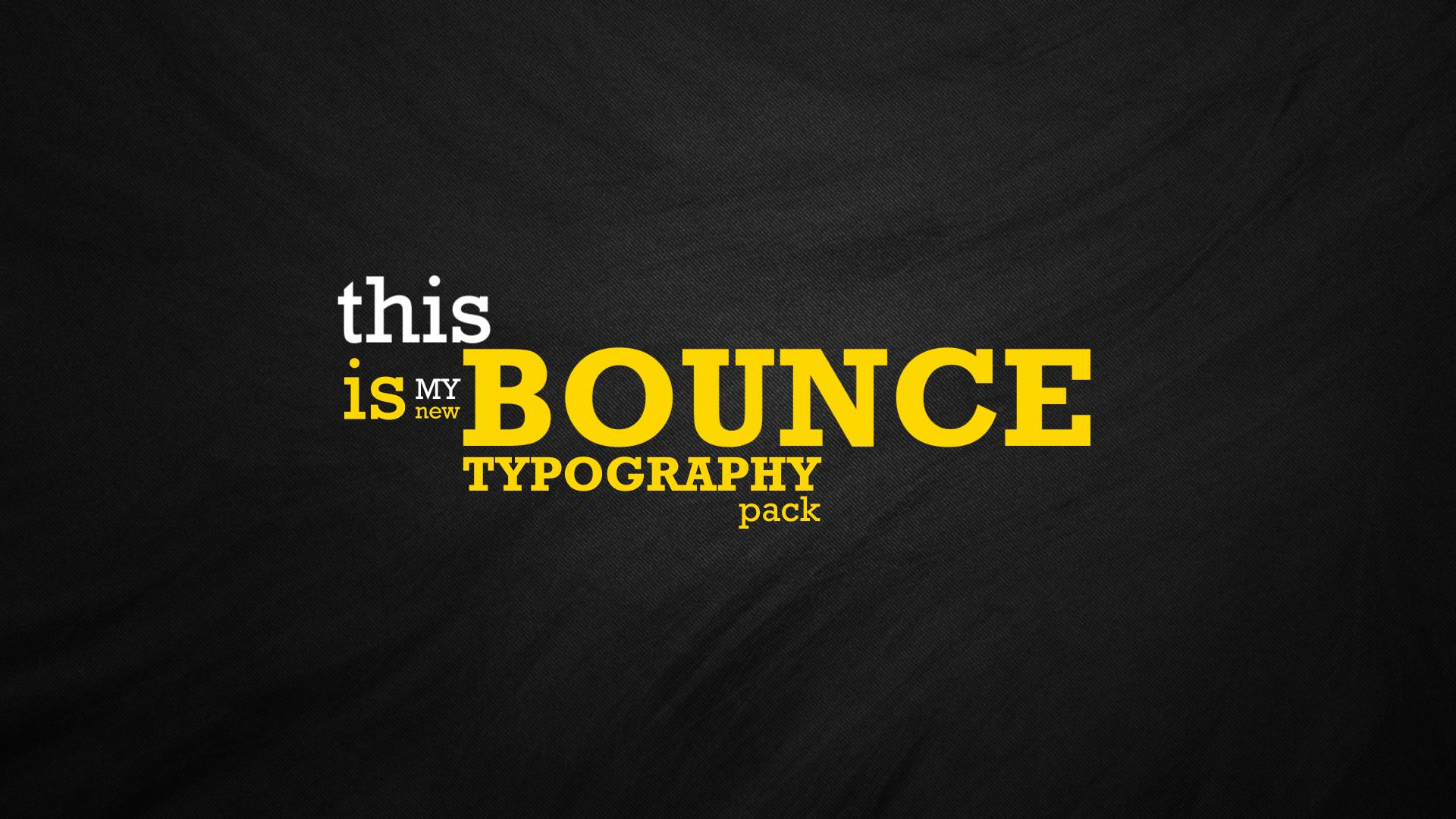 Dynamic Typography Pack - 19