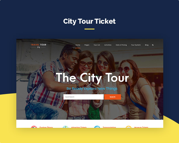 Travel Tour - Tour Booking, Travel Booking WordPress Theme - 6