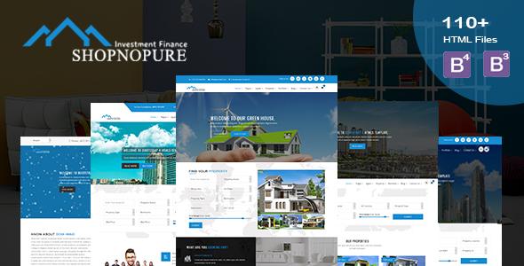 Shopnopuri - Multipurpose HTML5 Template - Corporate Site Templates
