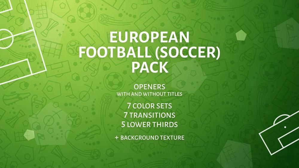 European Football (Soccer) Pack