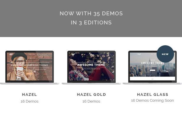 Hazel - Creative Multi-Concept Theme - 1