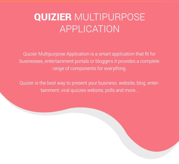 Quizier info