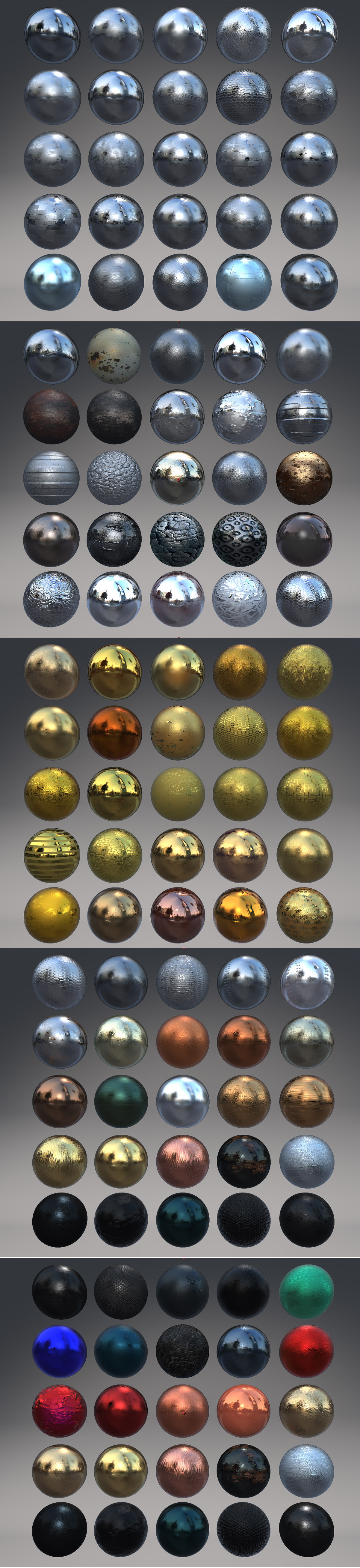 Metallic Shaders for E3D - 4