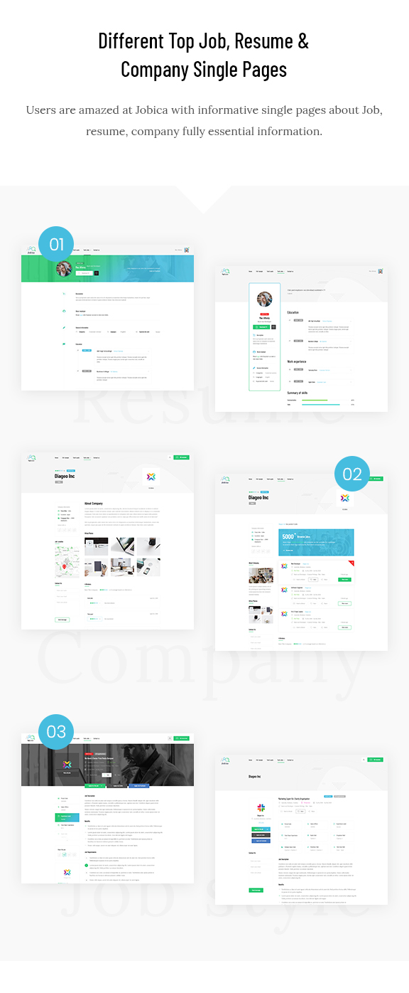 Jobica - Elementor IT Job Board WordPress Theme - 4