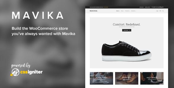 Mavika - WooCommerce Shop Theme - WooCommerce eCommerce