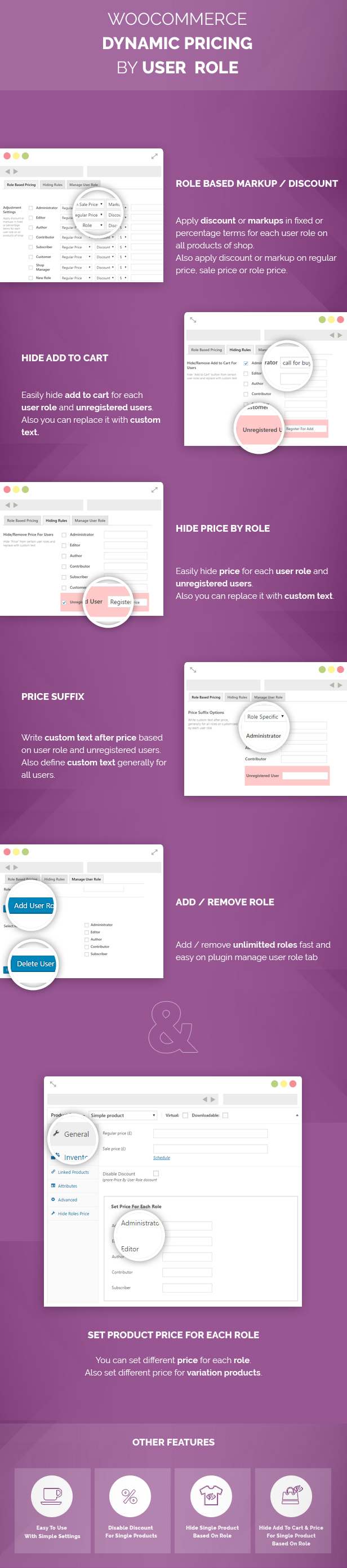 Woocommerce Dynamic Pricing By User Role - 1