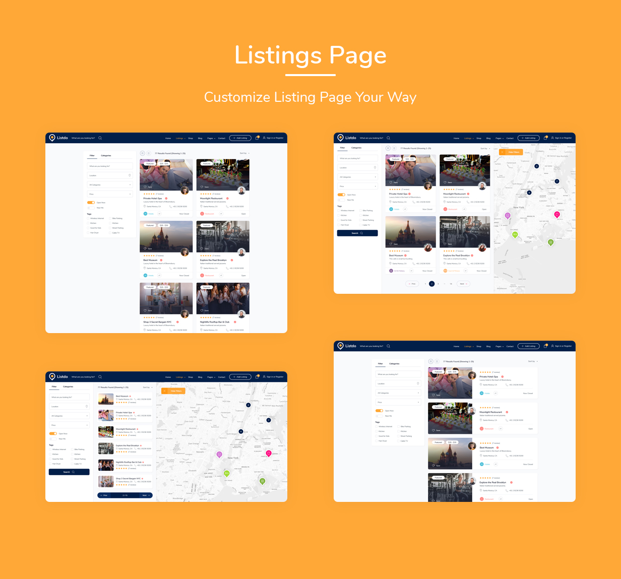 Listdo - Directory Listing WordPress Theme