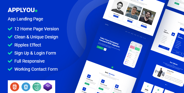 Langona - Business Agency HTML Template - 5